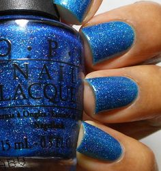OPI The Flowers are Blue-Ming!