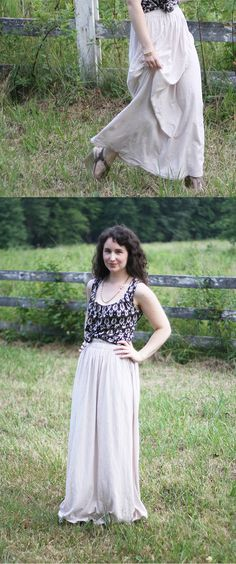 megan nielsen design diary: DIY jersey maxi skirt - this woman has a blog with lots of free sewing patterns and then also sells some on her business page.