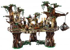 LEGO Ewok Village from Star Wars.