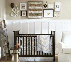 babys bedroom by pottery barn kids httpwwwpotterybarnkidscom - Pottery Barn Babies Room