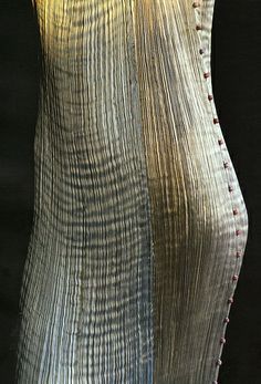 Fortuny pleats. Made in solid colors beginning 1915 and have not be recreated