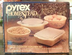 Homestead Country Kitchen Set, my mom had these, I wish I had them now....