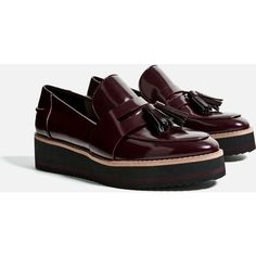 FLATFORM LOAFERS - Flats-SHOES-WOMAN | ZARA United States ($42) ❤ liked on Polyvore featuring shoes, loafers, loafer flats, loafers moccasins, flatform shoes, flat pumps and flat heel shoes