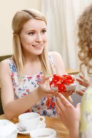 Resultado de imagem para giving a gift