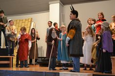 Grade 5's dress rehearsal for their play Gilgamesh. December 2014
