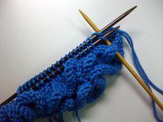 Row and Rows of Ruffles Tutorial | Creative Knitting Blog