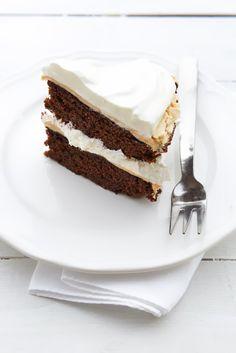 Aspettando il sole: torta cioccolato&meringa!