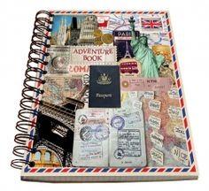 Spirálový blok - Travel č. A5, Office Supplies, Adventure, Travel, Viajes, Destinations, Adventure Movies, Traveling, Trips