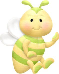 The bees knees — Yandex. Bee Clipart, Flower Clipart, Buzz Bee, Bug Crafts, A Bug's Life, Baby Images, Cute Polymer Clay, All Things Cute, Lovely Things