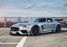 SLS Wide Body Aerodynamic kit Bumper,