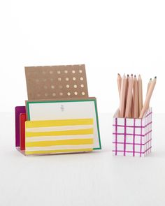 There are many ways to create a functional workplace with organizers and storage solutions.