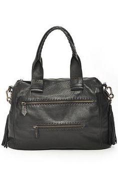 Shoulder Bag/Cross-body with 2 Front Zipper Pockets