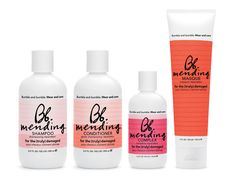 I'm amazed and in love with these little bunch from bumble and bumble. Me and my mom (who is hard to convince) have seen a great difference with my color treated hair.