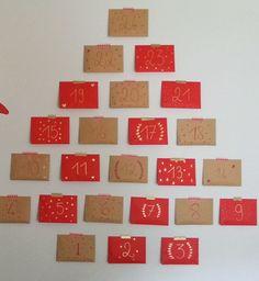 DIY : un calendrier de l'Avent d'Hello Balthazar - Cosmopolitan. Advent Calendar, Holiday Decor, Cosmopolitan, Home Decor, Diy Advent Calendar, Noel, Happy Merry Christmas, Winter, Kid