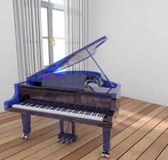 How abt one in tinted blue #instarender #piano #baby #grand #design #render #thea #c4d #magic #interior #archviz by wengfai79