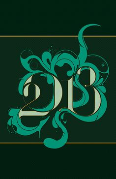 2013. Year of the Water Snake. Color of the year: Emerald. bjabesamis.