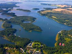 Mazury-Lake District in Poland Places Worth Visiting, Places To Visit, Travel Around The World, Around The Worlds, 1 Day Trip, Kaiserslautern, Mountain Bike Tour, Germany Poland, Neuschwanstein