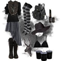 Dark Mori Witch - Black no.1