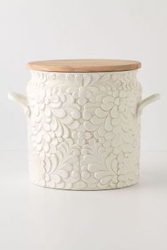 Anthropologie Verdant Bread Bin #anthrofave #homedecor #kitchen
