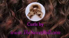 We love healthy easy curly hair! Roll Hairstyle, Hair Styler, Curly Hair Styles, Curls, Healthy, Sweet, Easy, Candy, Health