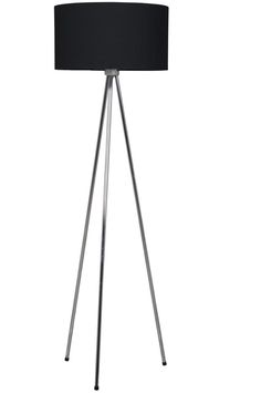 #Lampadar model Twist cu abajur din material textil Tripod Lamp, Lighting, Black, Home Decor, Metal, Decoration Home, Black People, Room Decor, Lights