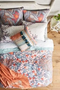 Tahla Quilt | Anthropologie | Fabulous Bedding | Pinterest ... : tahla quilt anthropologie - Adamdwight.com