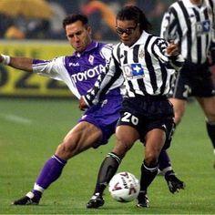 Edgar Davids against Angelo Di Livio @juventus @acffiorentina @edgardavidsofficial by mundialstyle