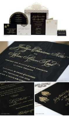 Luxury Wedding Invitations by Ceci New York. See more at: http://www.cecinewyork.com/cecistyle/v151