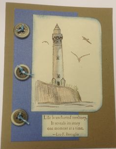"""Uncharted Territory"" stamp set from Stampin' Up."