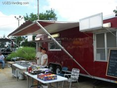 http://www.usedvending.com/i/1998-24-Wells-Cargo-Mobile-Rotisserie-Kitchen-Concession-Trailer-/IN-P-302N  1998 24ft. Wells Cargo Mobile Rotisserie Kitchen Concession Trailer