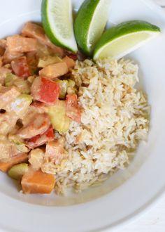 Spicy Peanut Vegetarian Curry - CommuniKait