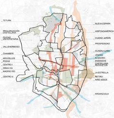 Galeria de Novo urbanismo de transformação e reciclagem: Projeto Madrid Centro - 10