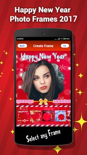 Hey guys it's time to celebrate the new year eve with your family and friend's!! Just forget all your worries and enjoy the day ,also you might want to share your  memories as a photo with your family and friends,if so then this application is for you Just download this free app and make some beautiful photo frame of new year 2017  Exciting features:  ➢	Easy installation  ➢	Trouble-free navigation  ➢	Give new prospective for visualize  ➢	Choose any image from the phone gallery  ➢	Fra