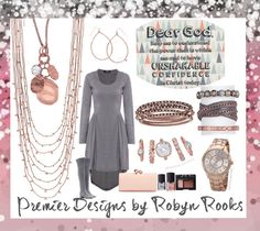 Premier Designs Rose Gold Sparkles!! LOVE this set!!! robynrooks.mypremierdesigns.com