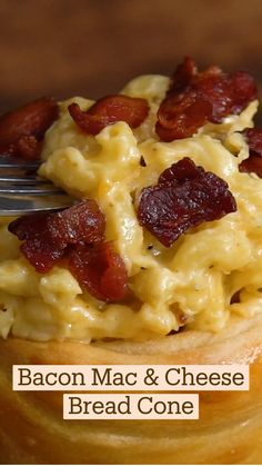 Bacon Mac And Cheese, Macaroni And Cheese, Bacon Jam, Cheese Bread, Fun Baking Recipes, Cooking Recipes, Ham Recipes, Veggie Recipes, Comida Diy