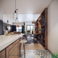 Un appartement vintage aux notes colorées - PLANETE DECO a homes world