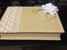Linda caixa para padrinhos de casamento!
