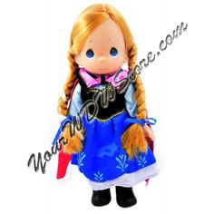 Your WDW Store - Disney Precious Moments Doll - 'Frozen' Anna Doll by Precious Moments