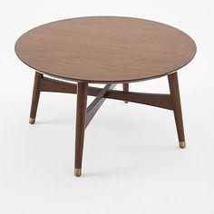 Reeve Mid-Century Coffee Table - Walnut   west elm