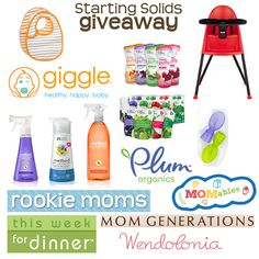 Starting Solids? WIN this excellent prize!