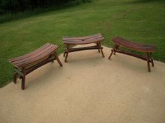 Barrel benches