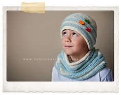 Squishy Cowl and Hat Set