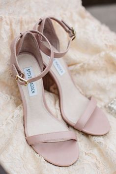 pink wedding shoes http://www.weddingchicks.com/2013/10/21/industrial-wedding-2/