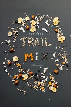 Nut-free trail mix recipe // www.deliacreates.com #CapriSunOrganic #sponsored #foodallergies