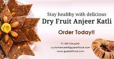 #BUY #DRY #FRUITS #ANJEER #KATLI #ONLINE FROM GujaratFood.com ONLINE FOOD PORTAL.  FOR MORE DETAILS, VISIT WWW.GUJARATFOOD.COM