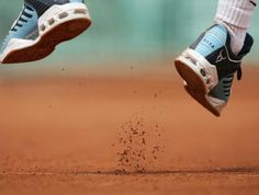 The red clay court of Roland Garros in Paris. #rafa #tennisplanet.com