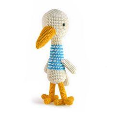 Zoomigurumi 3 - Eugenio the bird crochet pattern