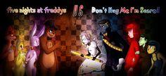 Five Nights at Freddy's VS Don't Hug Me I'm Scared by VanessaGiratina.deviantart.com on @deviantART
