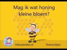 Liedje Bijen,  thema bijen, kleuteridee - YouTube Spring Theme, Anna, A Blessing, Preschool, Songs, Teaching, Youtube, Kids, Insects