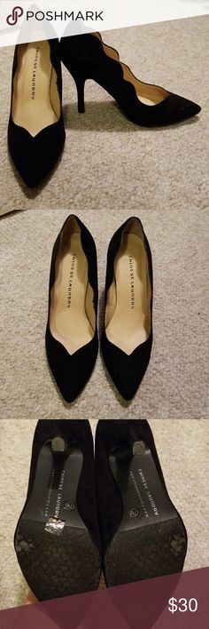 Chinese laundry heels Black velvet heels Chinese Laundry Shoes Heels